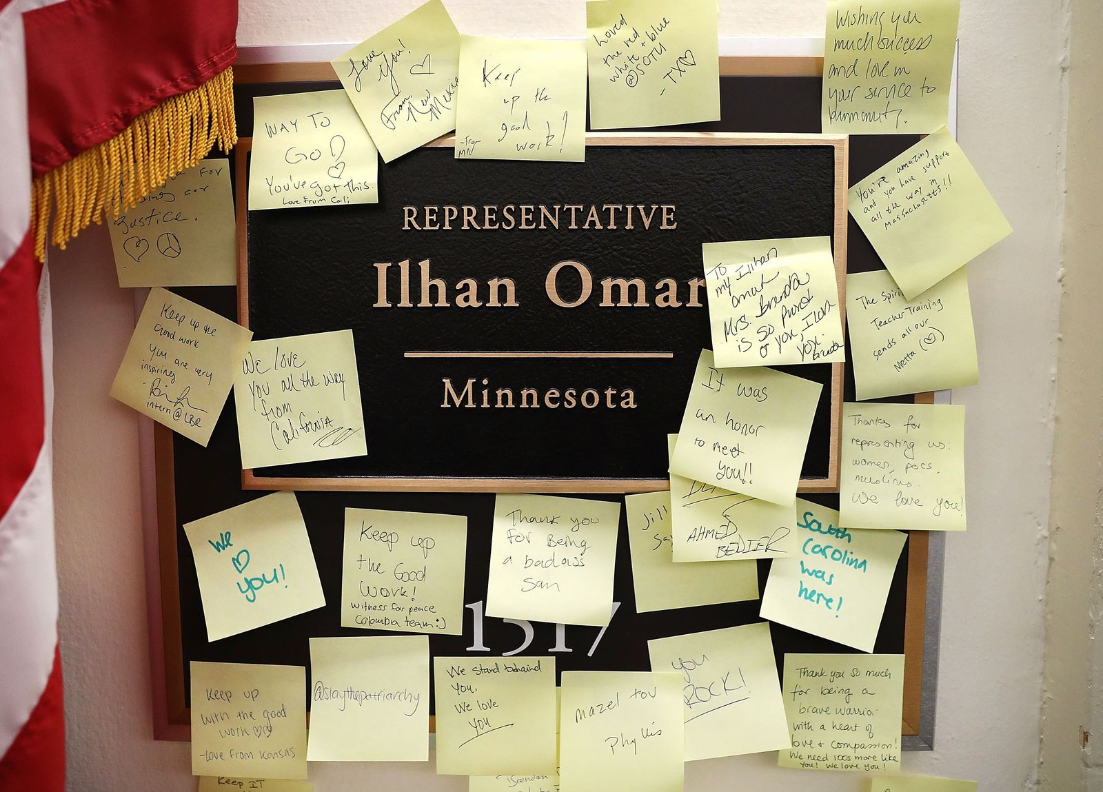 US-HOUSE-DEMOCRATS-DENOUNCE-A-CONTROVERSIAL-TWEET-BY-REP.-ILHAN-