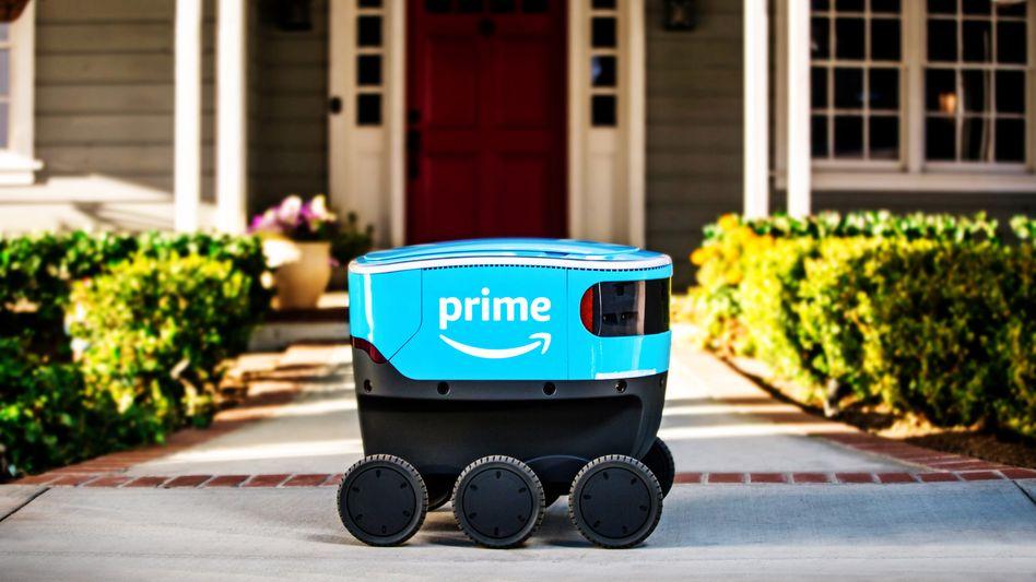 Amazon-»Scout«: Bislang vor allem auf Firmen- oder Universitätsgeländen im Einsatz