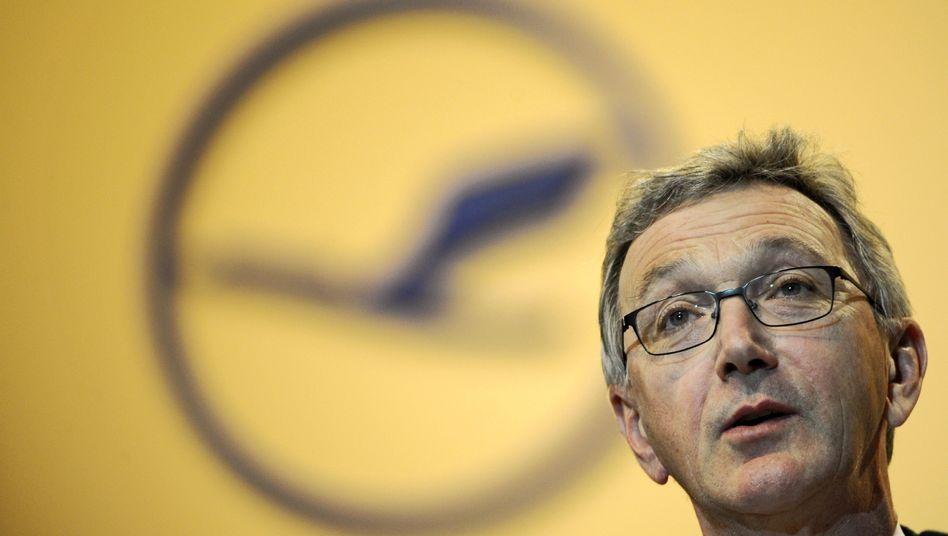 Designierter Lufthansa-Aufseher Mayrhuber: Chaos-Tag bei der Fluggesellschaft