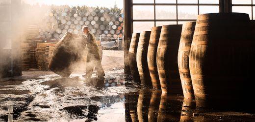 Glenfiddich: Schotten stellen Kraftstoff für Lkw aus Whisky-Abfällen her