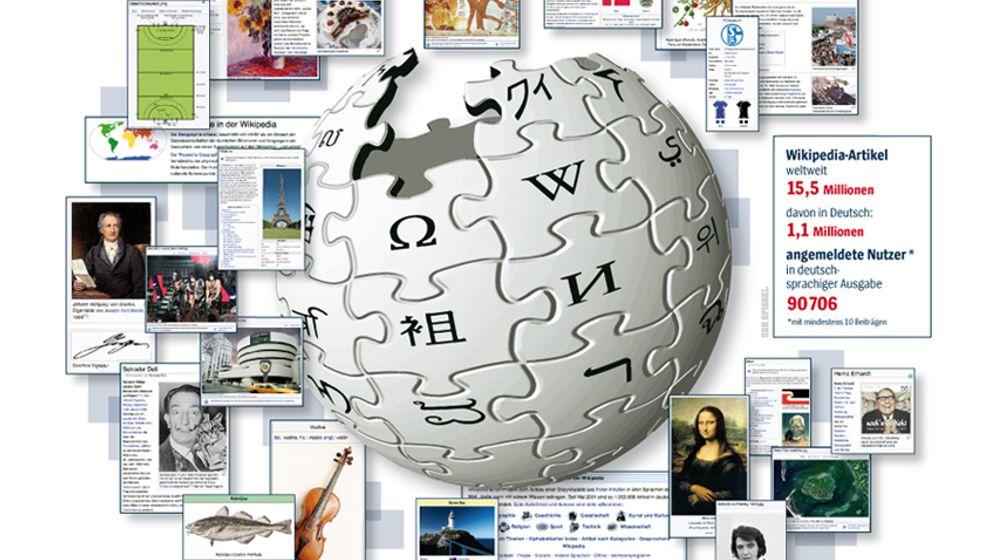 Wikipedia: Von Vielen und Wenigen