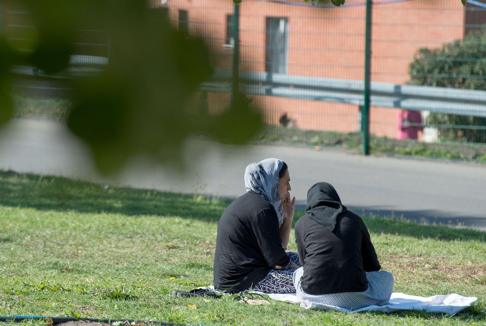 Flüchtlingsunterkunft in Gießen