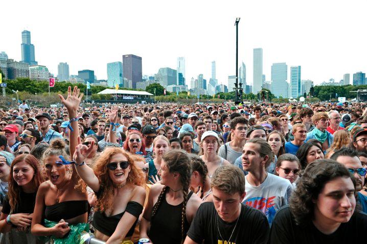 Das Lollapalooza findet seit 1991 statt und zählt zu den populärsten und erfolgreichsten Festivals der USA (Archivfoto)