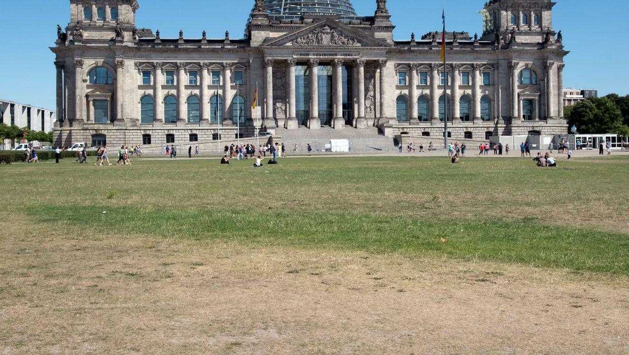 Graben Reichstag