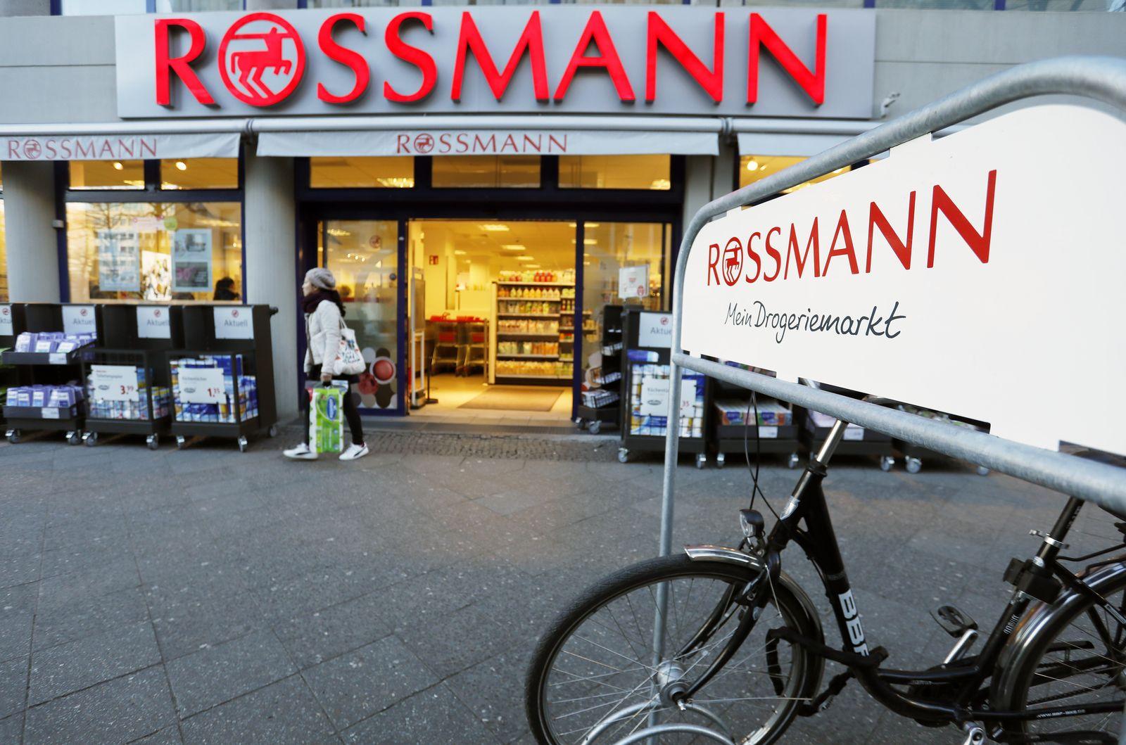 Rossmann / Rückrufaktion