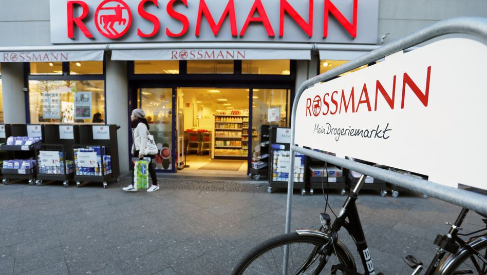 Filiale der Drogeriekette Rossmann