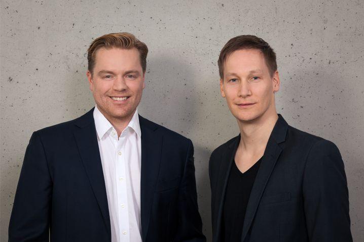 Christian Hemmrich, Sven Hecker (rechts)