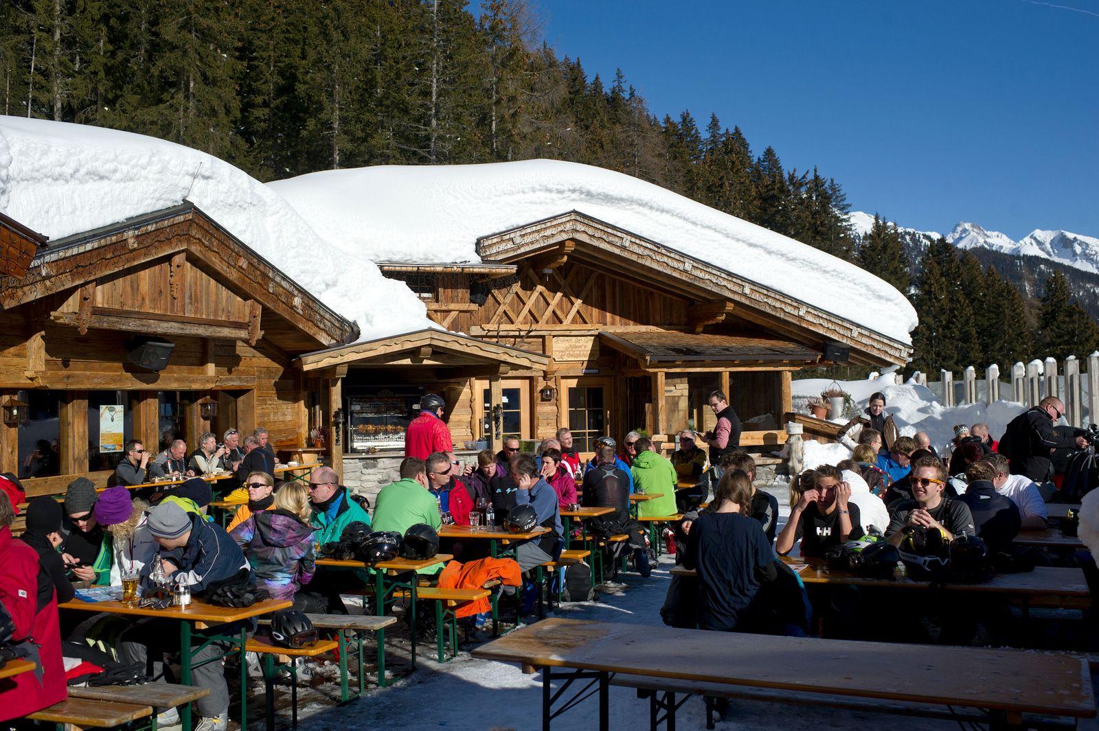 Austria puts popular touristic areas under quarantine amid the coronavirus crisis, St Anton Am Arlberg - 12 Jan 2012