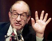 Zerstreute die Sorgen der Anleger: Fed-Chef Alan Greenspan