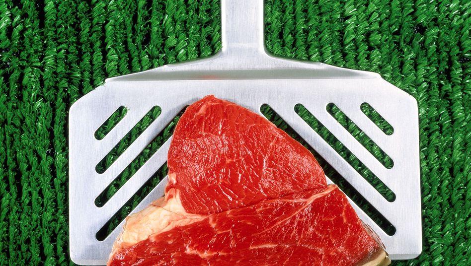 Steak: Darmbakterien wandeln L-Carnitin in schädliches Trimethylamin-N-oxid um