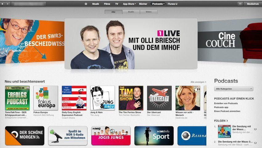 Podcast Suche