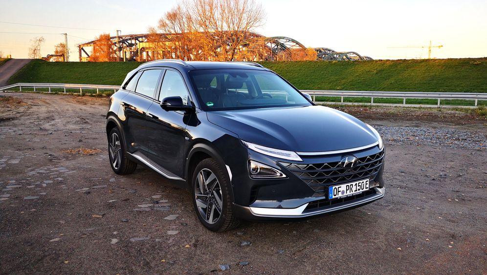 Wasserstoffauto Hyundai Nexo: Sauber in Serie