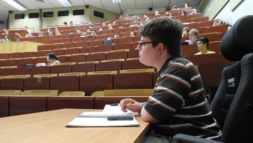 """Behinderter Student Constantin Grosch: """"Jeder Mensch braucht Ziele, ich auch"""""""