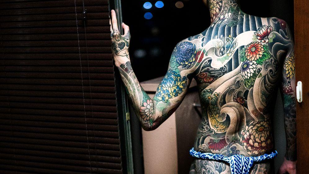 Körperkunst in Japan: Tabu Tattoo