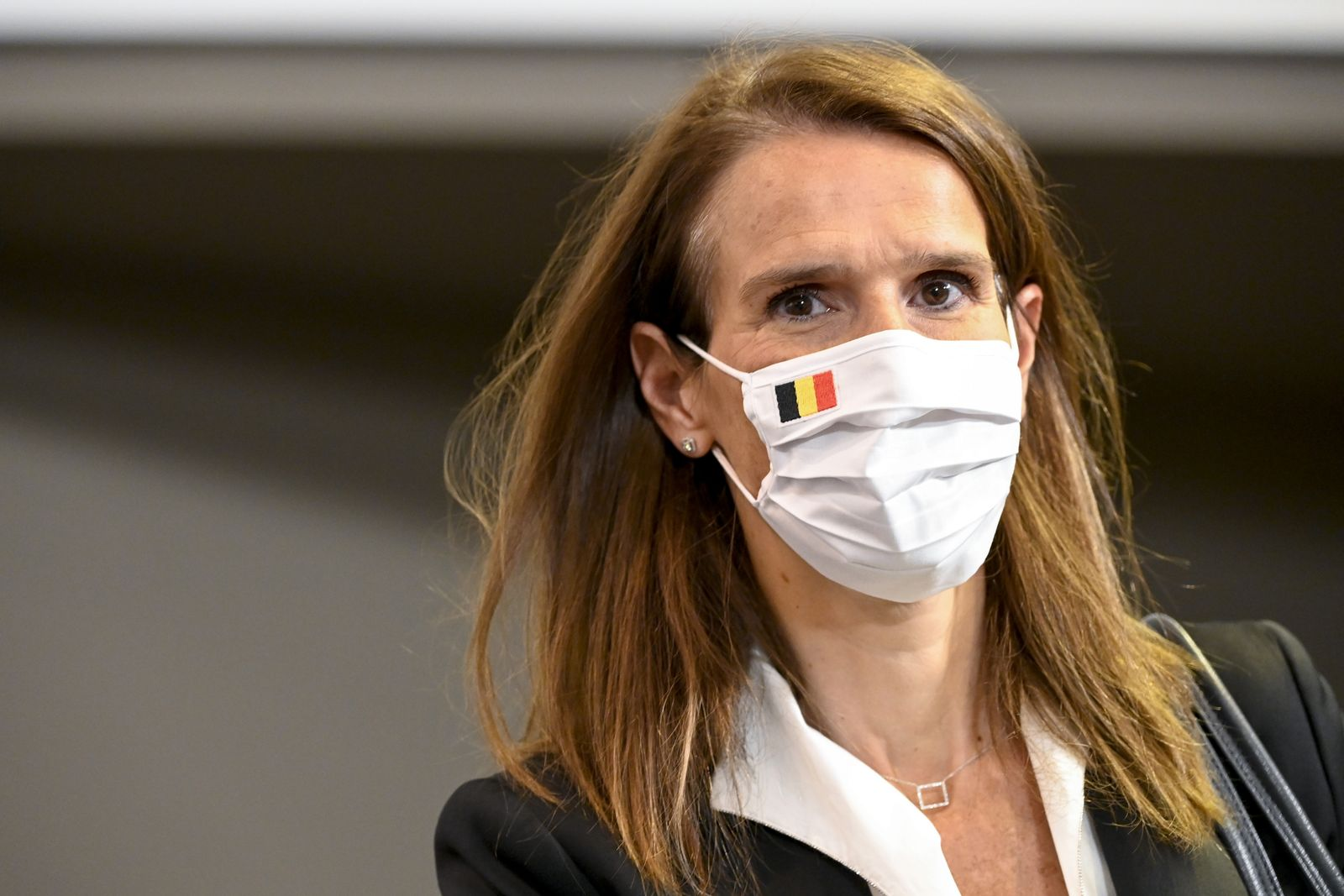 Belgium's National Security Council on coronavirus pandemic, Brussels - 23 Jul 2020