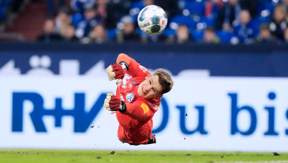Alexander Nübel hat beim FC Schalke seinen Stammplatz verloren