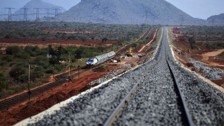 Fotostrecke: Afrikas neue Eisenbahn