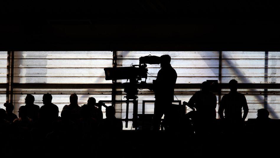 TV-Berichterstatter (Symbolbild)