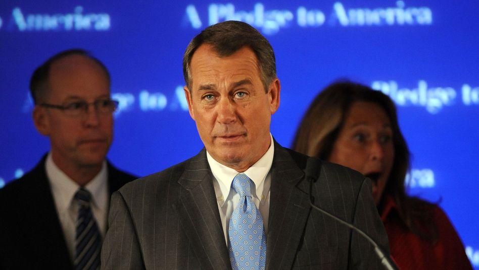 """Republikaner Boehner: Die Gesundheitsreform ist ein """"Ungetüm"""""""