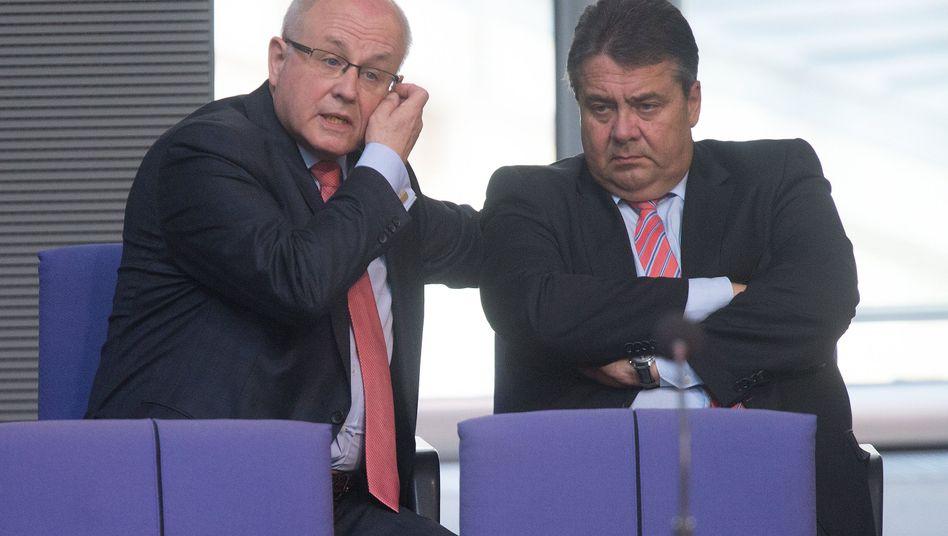 Streitfall Frauenquote: Gabriel keilt gegen Koalitionspartner Kauder (Archivbild)