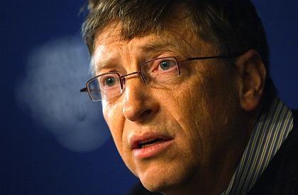 Gates im Januar in Davos: Exklusiver Hofbericht