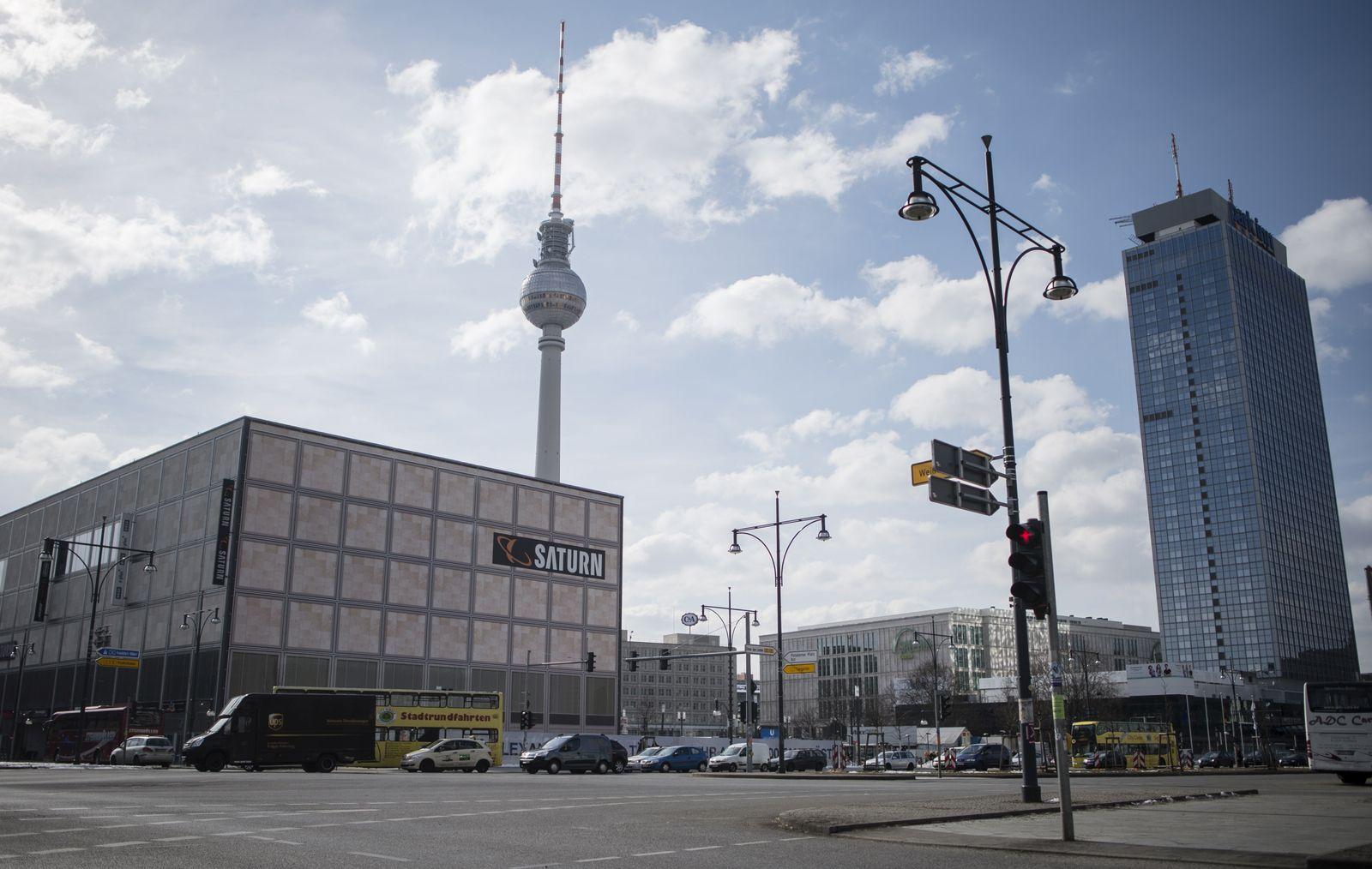 EINMALIGE VERWENDUNG Berlin Alexanderplatz