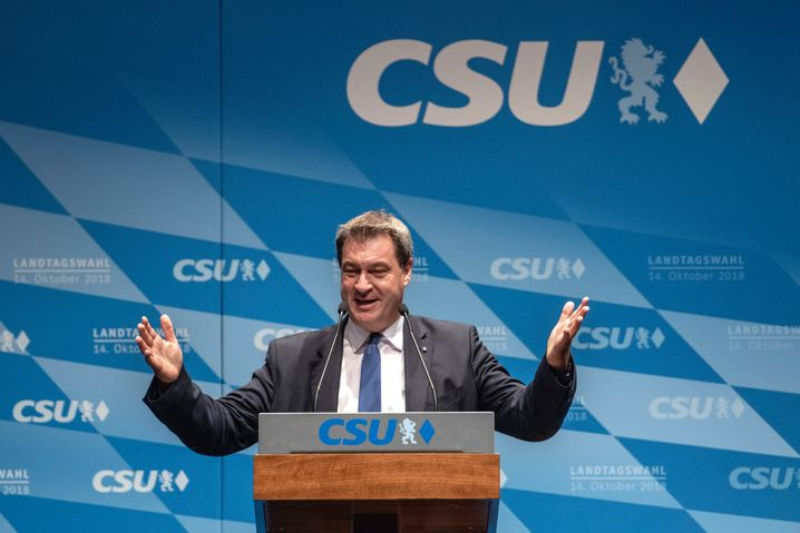 Bavarian Governor Markus Söder has said he intends to stay in Bavaria. But he will have an important word to say in who becomes the chancellor candidate for the Union. Some 31 percent of Germans view him as a good chancellor candidate.