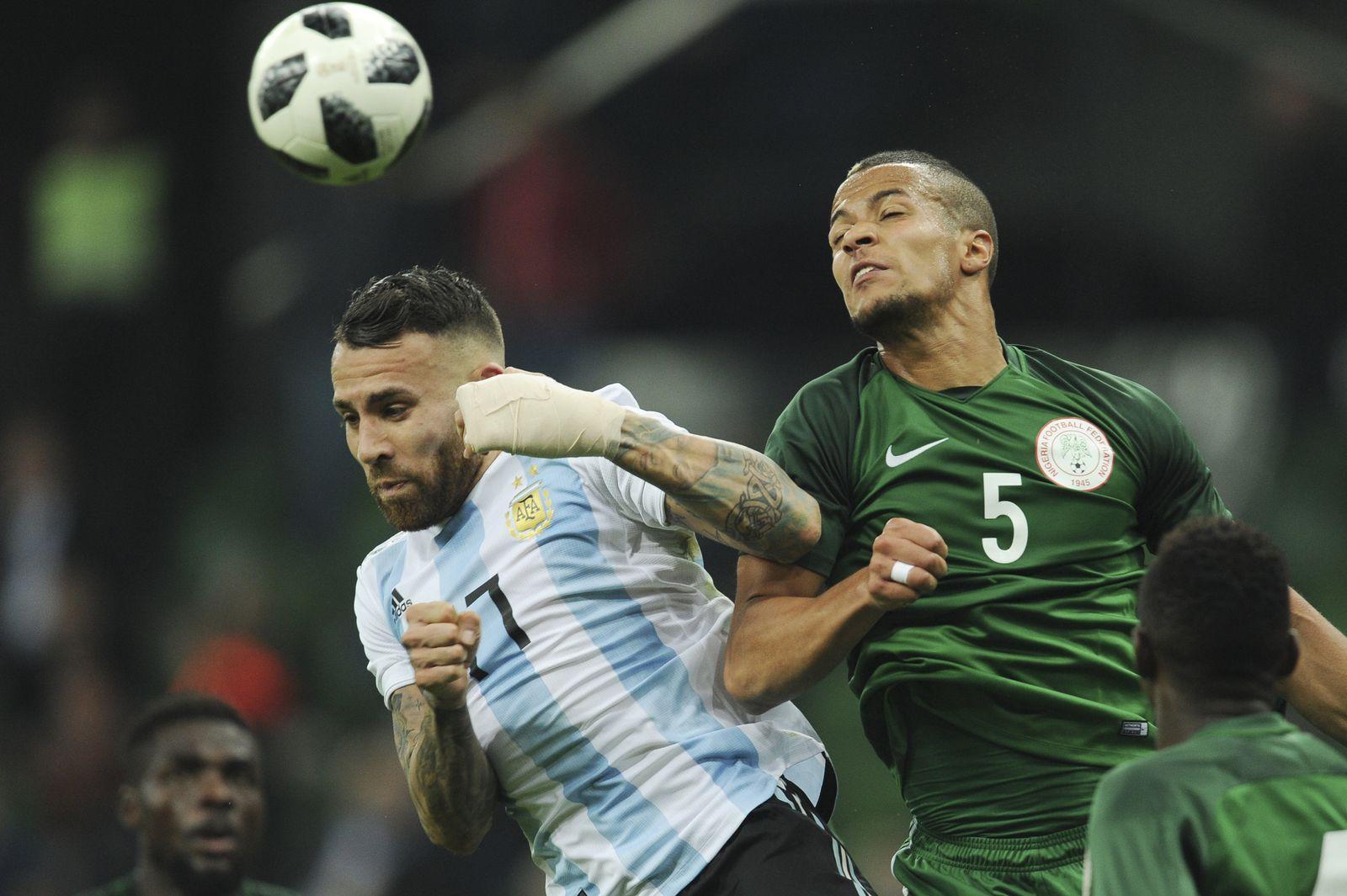 Russia Argentina Nigeria Soccer