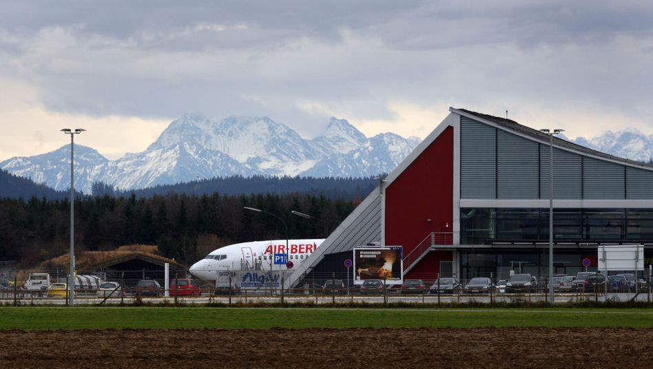 Allgäu Airport in Memmingerberg