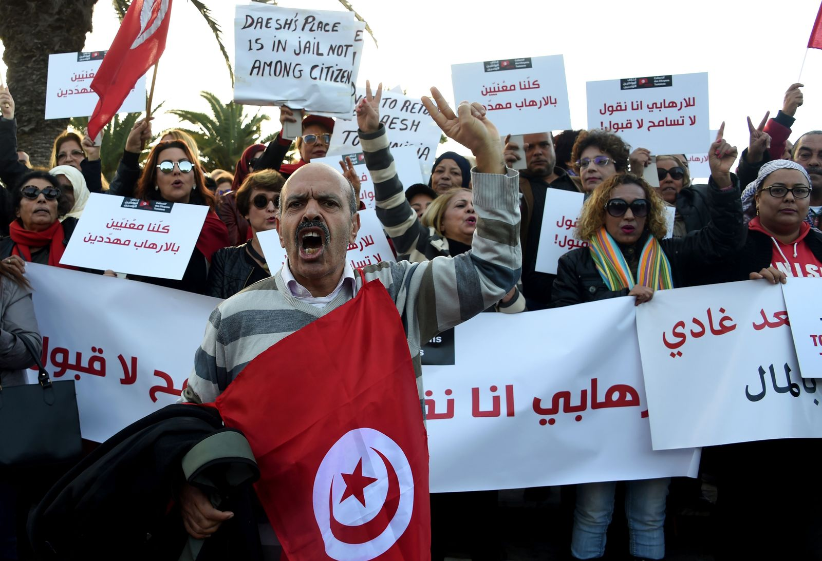TUNISIA-UNREST-DEMO