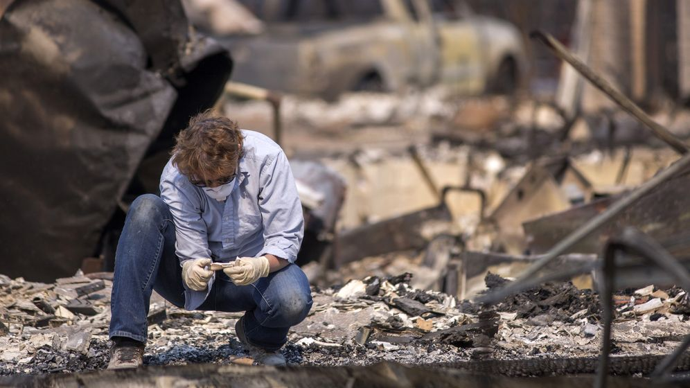 Waldbrände in Kalifornien: Auf Spurensuche