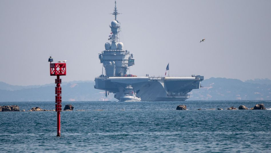 """Französischer Flugzeugträger """"Charles de Gaulle"""": Hunderte Matrosen infiziert"""