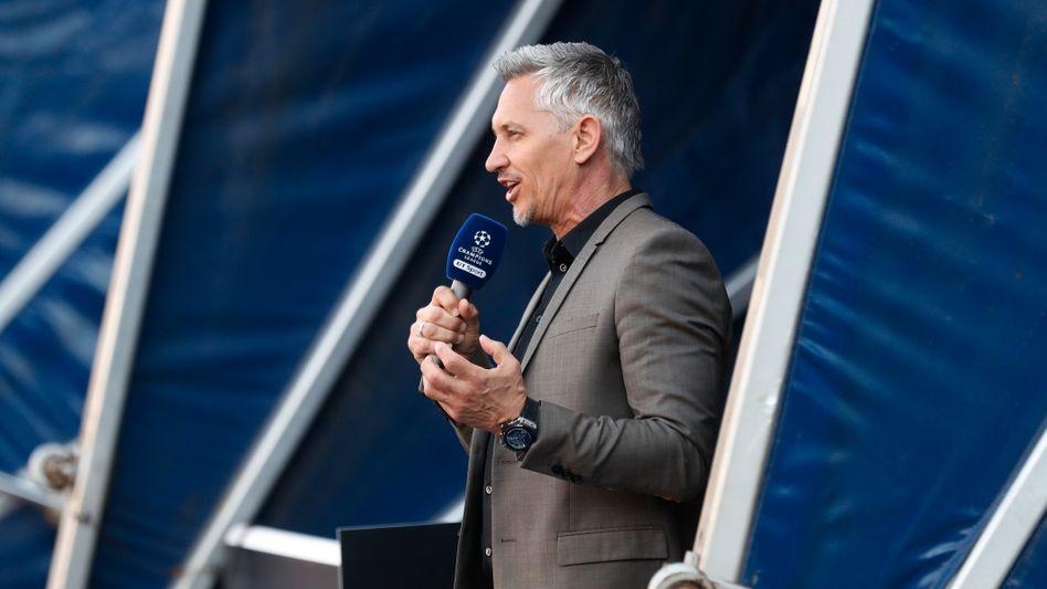 Gary Lineker als BBC-Kommentator