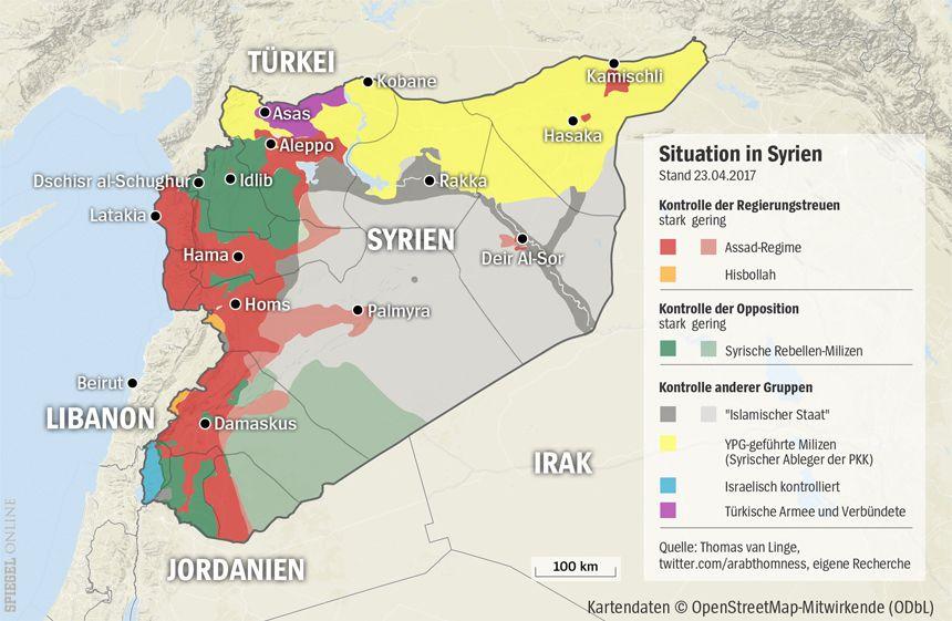 Grafik Karte Syrien 23-04-2017