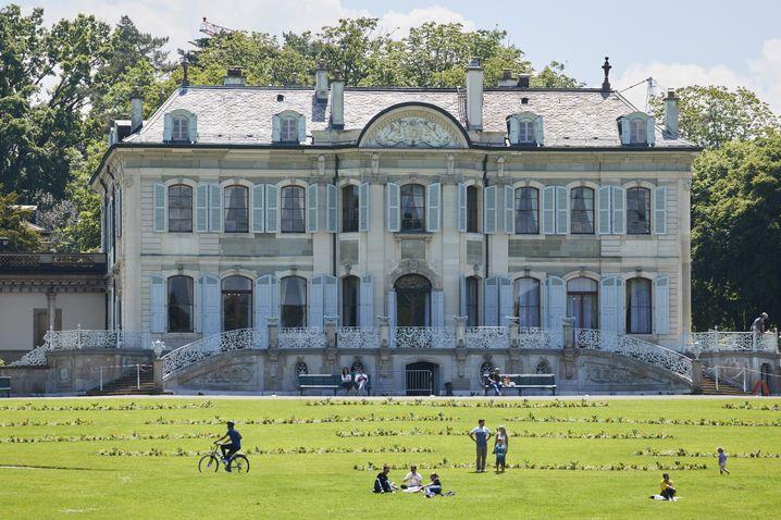 Treffpunkt von Joe Biden und Wladimir Putin: Die Villa La Grange in Genf