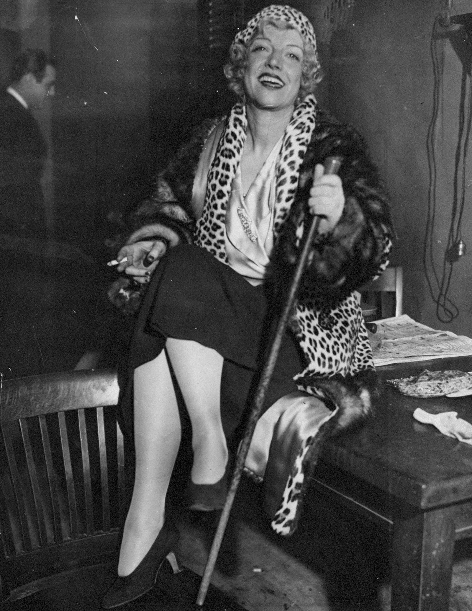 "Prohibition - Mary ""Texas"" Guinan, queen of New York's night life for near"
