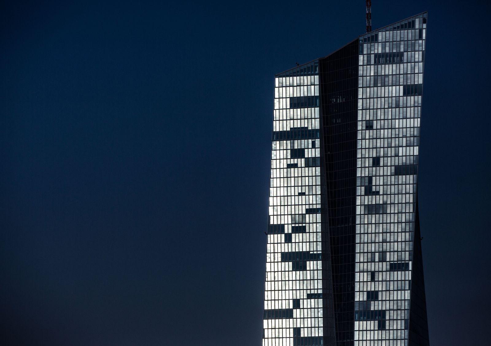 EZB im Sonnenschein