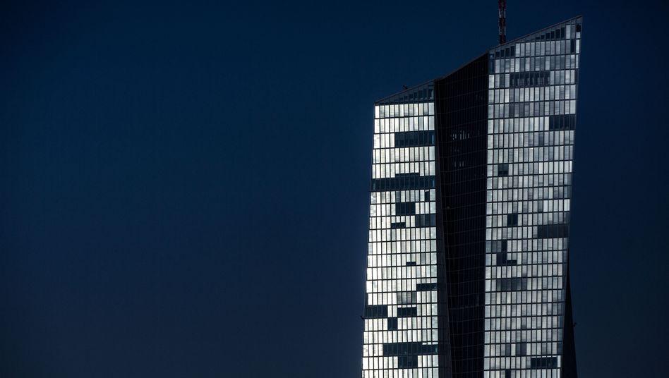 Zentrale der Europäischen Zentralbank (EZB) in Frankfurt am Main