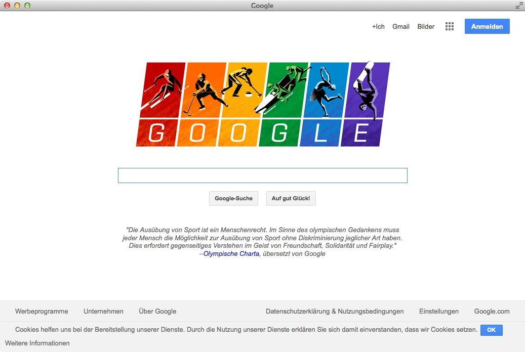NUR ALS ZITAT Screenshot Google