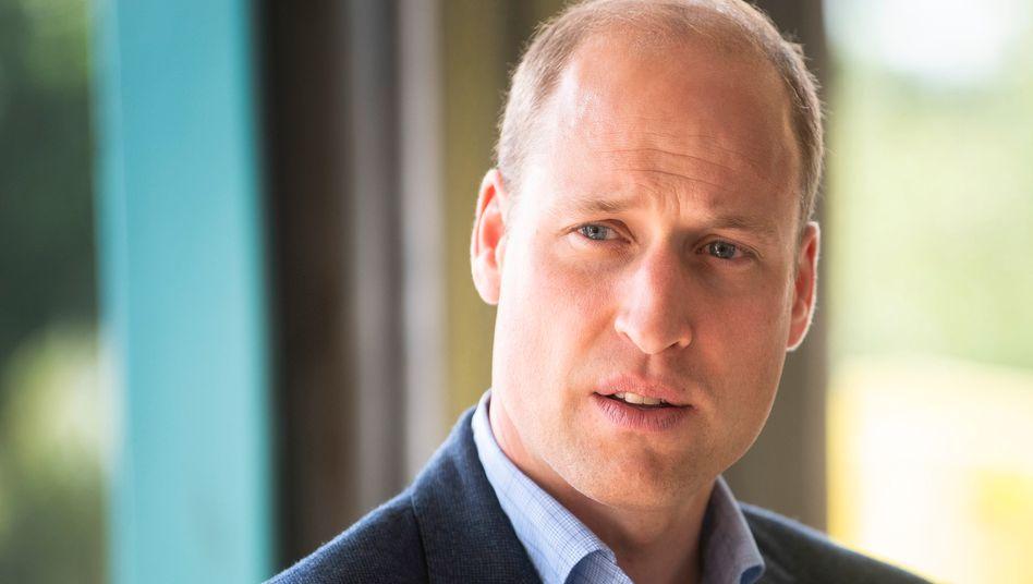 Prinz William (Archiv): War ein Teenager, als seine Mutter starb