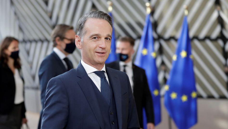 """Außenminister Heiko Maas: """"Die Gewalt geht weiter"""""""