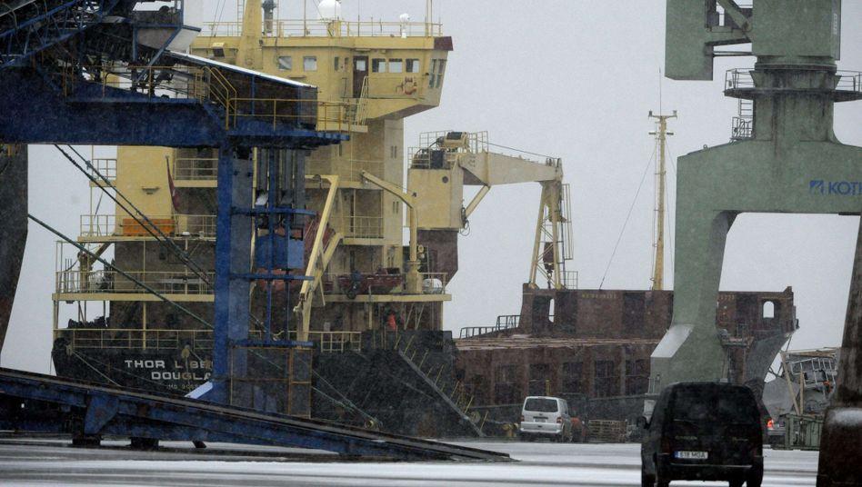 """""""Thor Liberty"""" im finnischen Hafen von Kotka: Frachter von Behörden zwangsentladen"""
