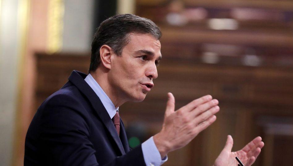 """Pedro Sánchez (Archiv): """"Die Situation, die wir durchleben, ist extrem"""""""