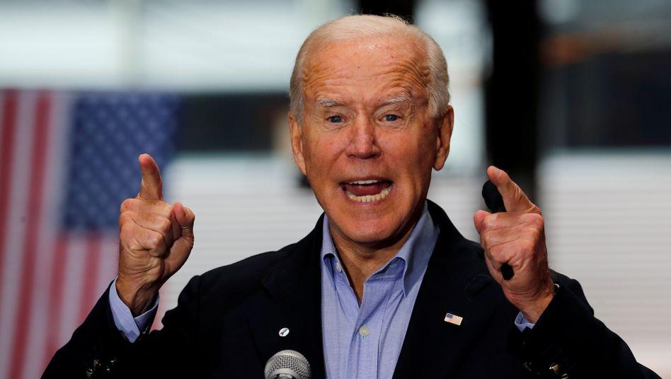 Demokratischer Präsidentschaftskandidat Joe Biden: Am 3. November findet die US-Wahl statt