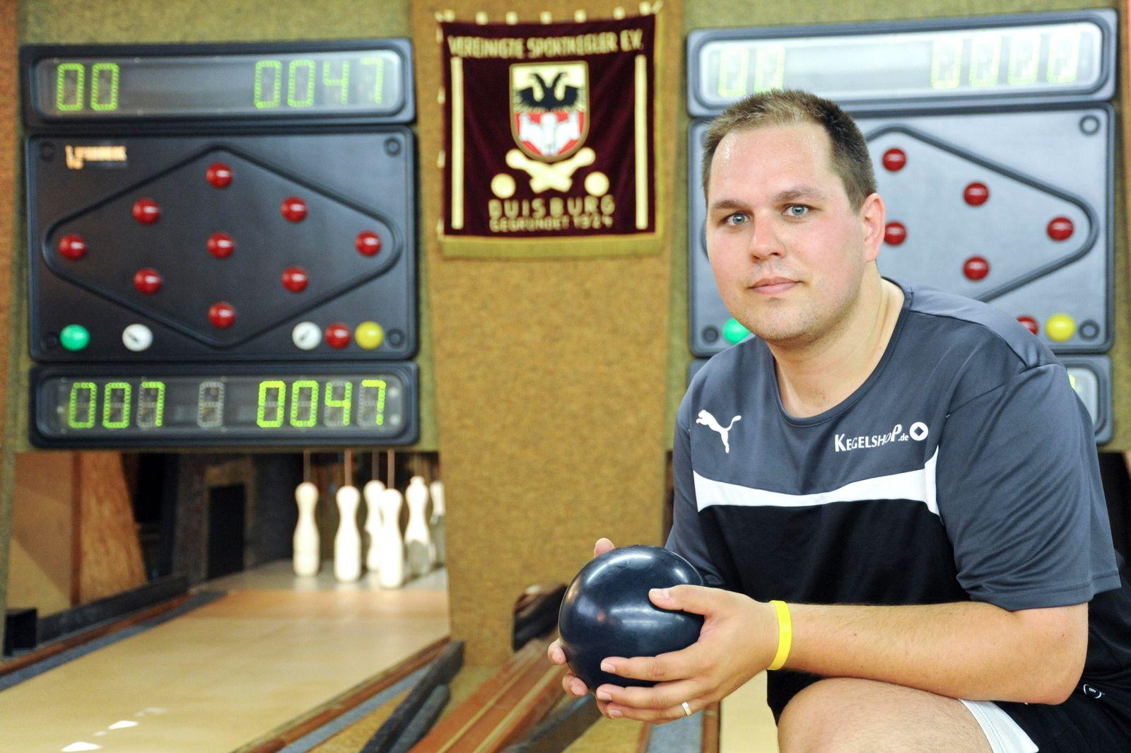 Andr�aukmann Einzel-Weltmeister im Kegeln