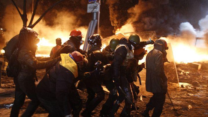 Unruhen in Kiew: Angst auf dem Maidan