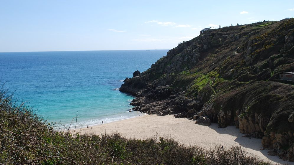 Porthcurno in Cornwall: Die lange Leitung