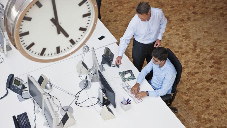 Arbeitszeit: Darf's ein bisserl mehr sein?