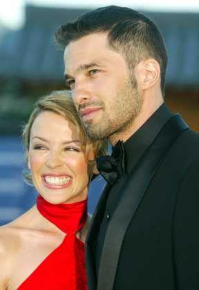Foto aus glücklichen Zeiten: Minogue und Martinez 2003