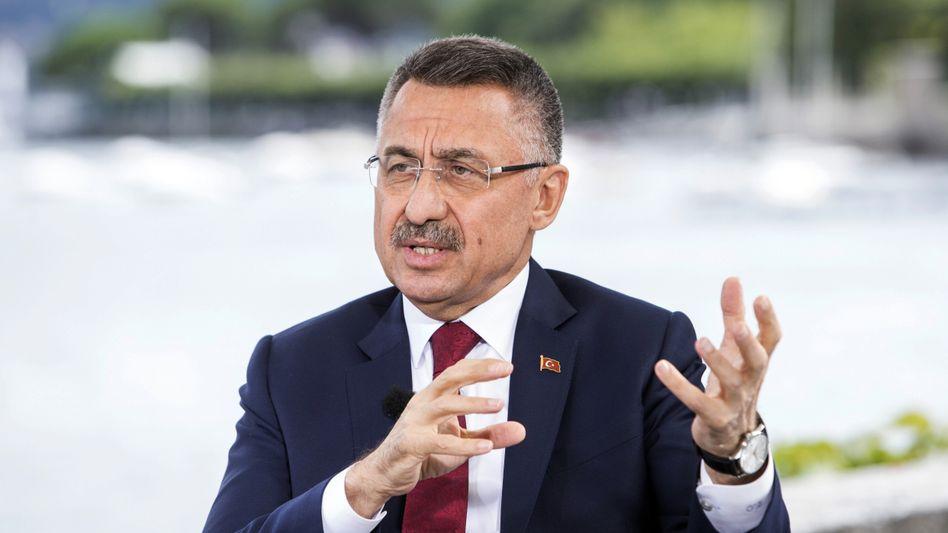 """Fuat Oktay, türkischer Vizepräsident: """"Unsere Botschaft an die internationale Gemeinschaft ist klar"""""""
